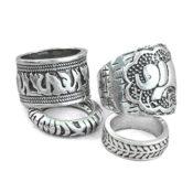 Mangotree Silber Vintage Ring Boho Style