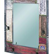HAKU Möbel 28955 Wandgarderobe, vintage , 8 x 55 x 75 cm