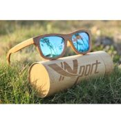 Bambus-Sonnenbrille