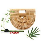 Handgefertigt Bambus Tasche