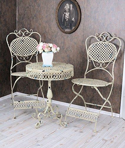 Vintage Gartentisch Metall